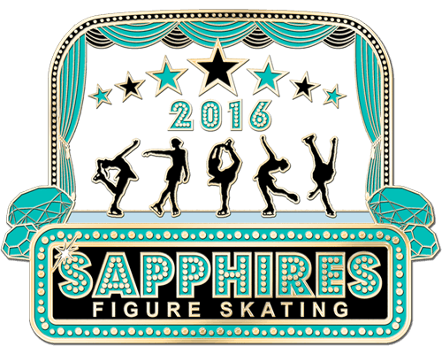 Figure Skating Pin